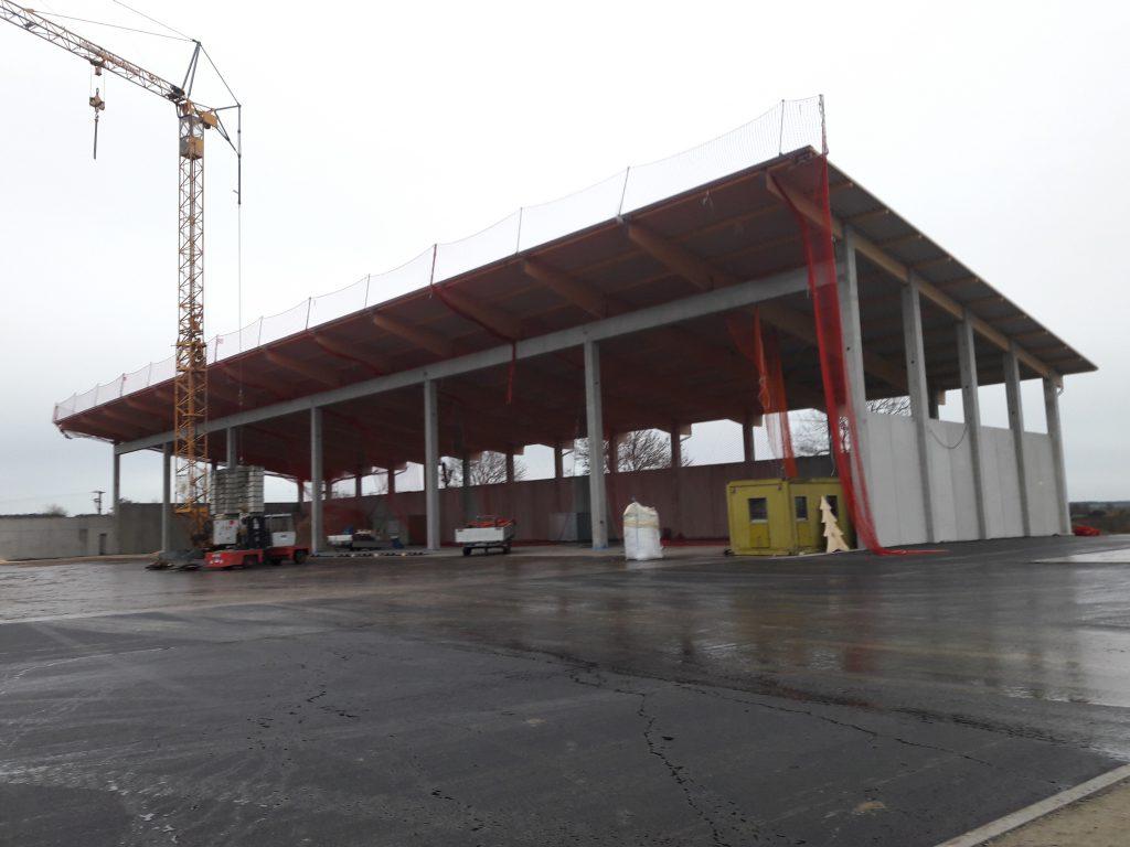 Neubau Halle